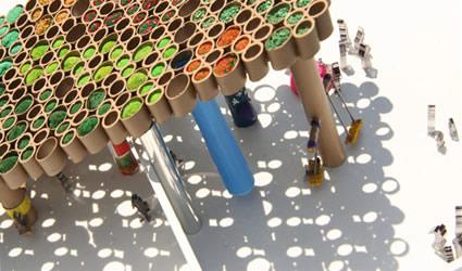 Architettura sostenibile il concorso di ps1 warm up music for Architettura temporanea