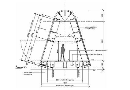 Architettura sostenibile la casa di cartone resistenza for Costo materiale per costruire un calcolatore di casa
