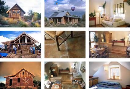 Una casa in paglia dalle nuove ricerche sui materiali - Costruire una casa in paglia ...