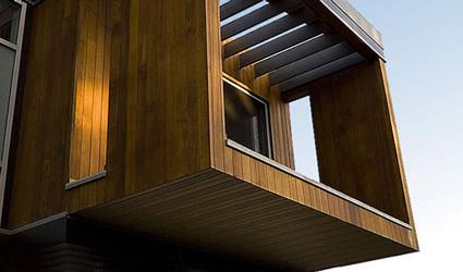 Una casa prefabbricata e sostenibile concetto for Case prefabbricate modulari