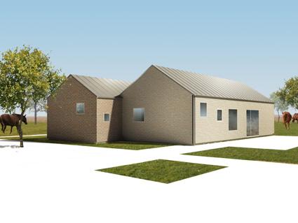 Svezia nord style le case prefabbricate sostenibili di - Architettura casa moderna ...