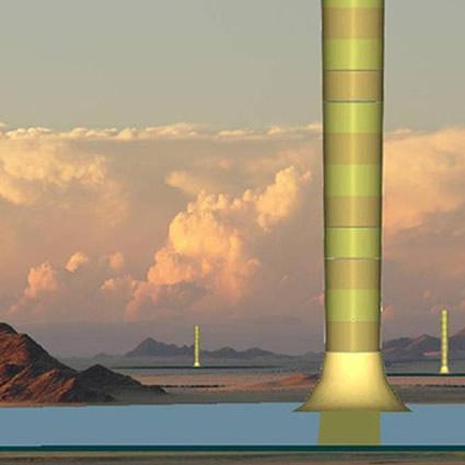 torre energia solare, torre energia solare namibia, namibia torre  energia solare, torre namibia produzione energia e alimenti, torre  energia solare e coltivazione agricola