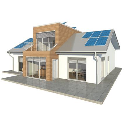 Casa sostenibile bru mar fra super efficienza energetica for Progettazione casa generatore