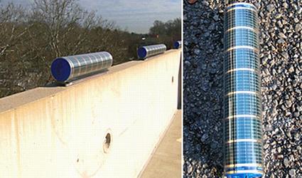 moduli solari cilindrici, solaroad, solaroad electrawall, electrawall, electrawall solaroad, celle solari cilindriche