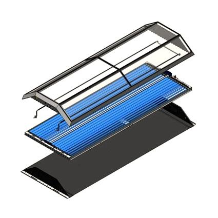 Concentratori Solari, Solare Termico, Chromasun, Chromasun Solare Termico,  Concentratore Solare