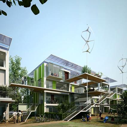 La casa sostenibile del futuro 4 architetti per for Progetti di costruzione famosi