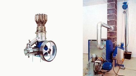 motore stirling, motore stirling a legna, stirling a legna