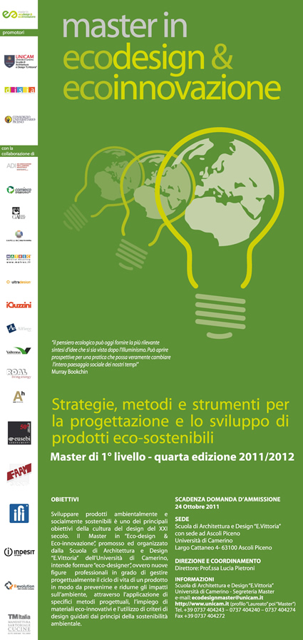 master ecodesign, master eco design, ecodesign master, master design sostenibile, design sostenibile, ecodesign, eco design