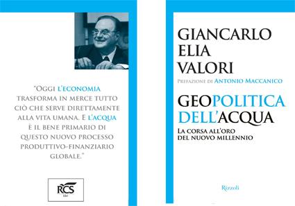 G.E. Valori, A. Maccanico, 2012 geopolitica dell'acqua