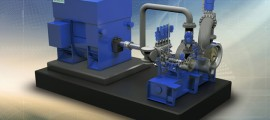 "siemens, turbina a vapore industriale SST-111, design concept ""Enhanced Platform"""