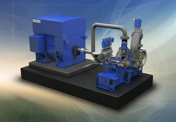 "siemens, turbina a vapore industriale SST-111, design concept ""Enhanced Platform"""