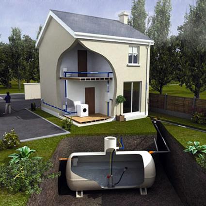 casa sostenibile, recupero acque piovane, recupero calore, casa sostenibile recupero acque piovane