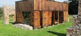 casa sostenibile, materiali riciclati