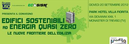 edifici sostenibili, casa sostenibile, isolamento sostenibile, risparmio energetico