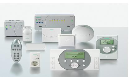 siemens, homecontrol, controllori hvac, risparmio energetico