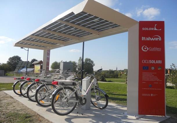 bike sharing elettrico, padova