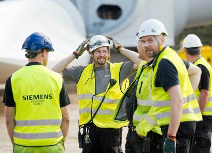 Siemens turbina eolica