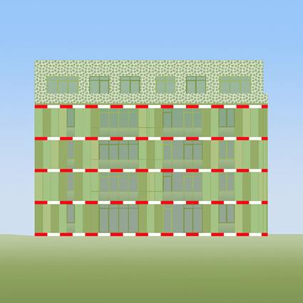 alghe facciata, biq alghe facciata