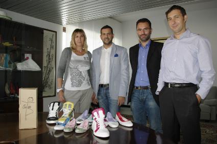 scarpa cartina riciclabile
