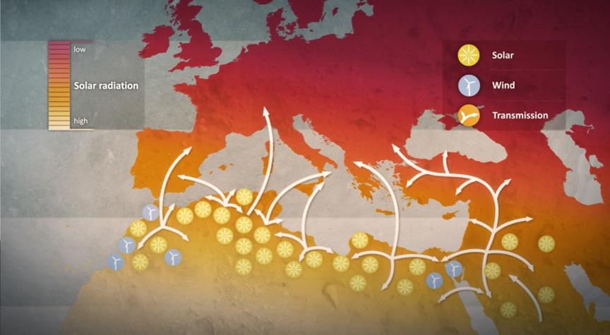 energia sahara, desertec energia dal sahara