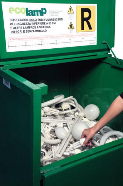 ecolamp raccolta riciclo raee