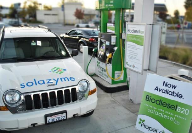 Propel-Solazyme, biocarburante a base di alghe
