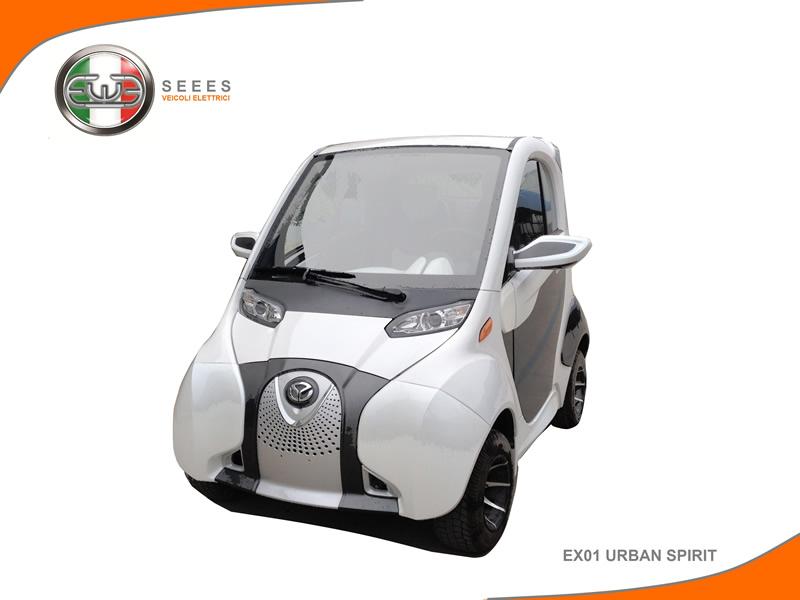 seees, veicoli elettrici, auto elettrica, mobilità sostenibile, ex01