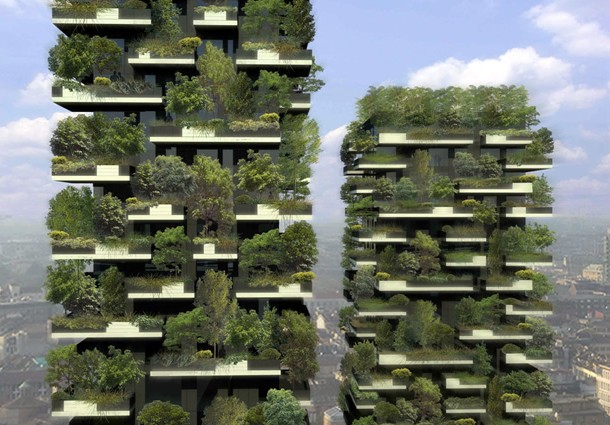 il bosco verticale di milano fra verde urbano