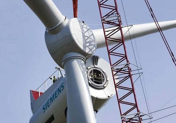 siemens, turbina offshore