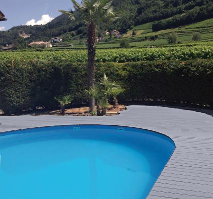 naturinform, pavimentazione piscina legno, pavimentazione piscina ecologica