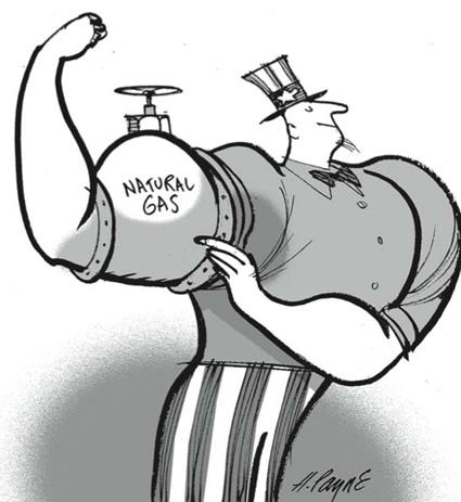 shale gas, shale gas usa