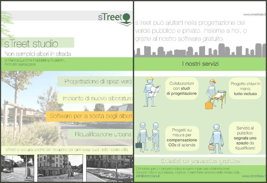 street, alberi città, città green, riqualificare città