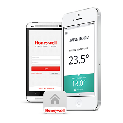 honeywall, total connect comfort, evohome