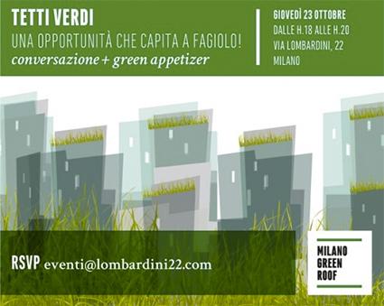 Giardini Pensili e Tetti Verdi: Un'Opportunità che Capita a Fagiolo...