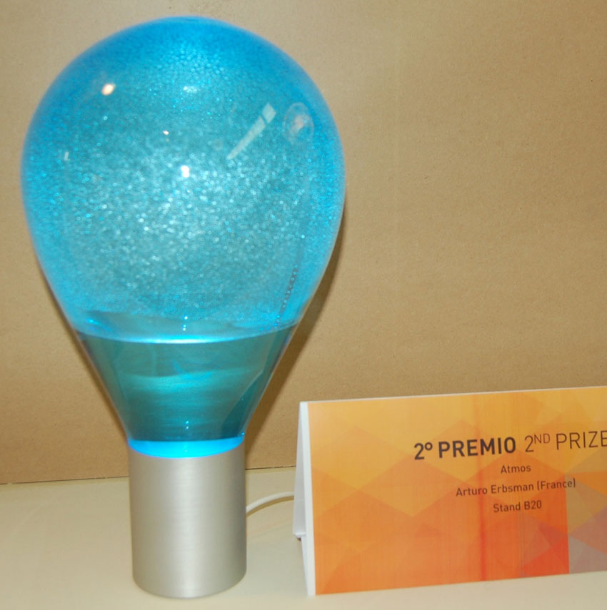 Lampadina LED Atmos, 2° Premio