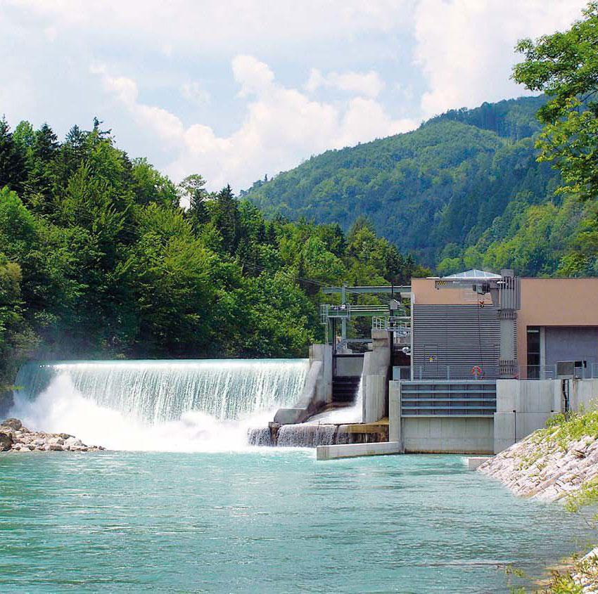 Impianto mini Idroelettrico ad Acqua Fluente