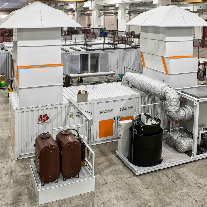 Modulo Cogenerativo Containerizzato ECOMAX