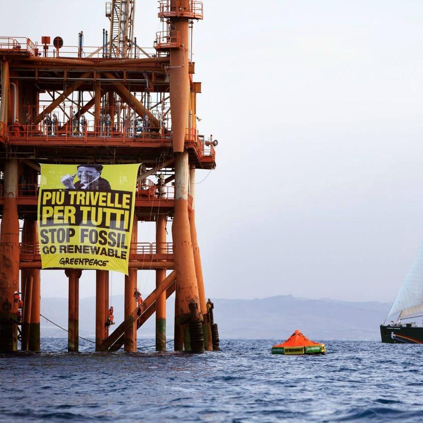 Greenpeace, Trivelle, No Triv