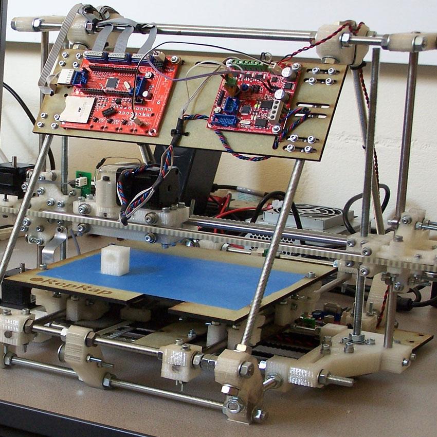 Stampante 3D, Materiale riciclato
