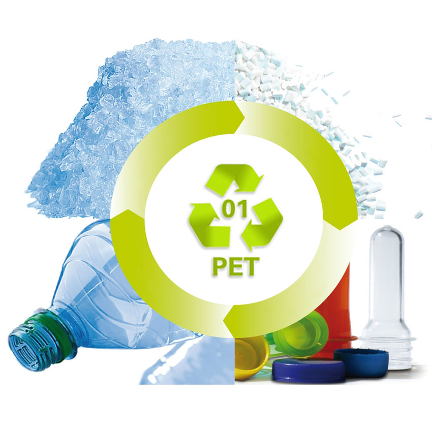 Bottiglia di Plastica PET, Completamente Biodegradabile