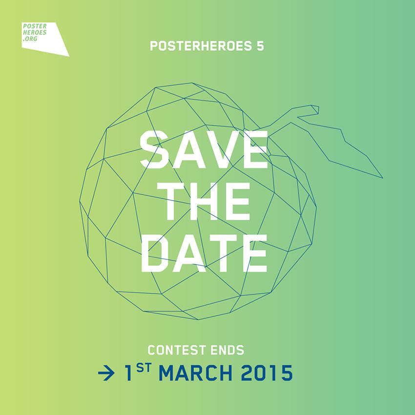 Posterheroes, Iscrizioni fino al 1° Marzo 2015