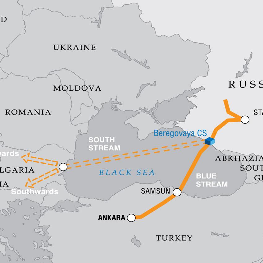 South Stream cambia Direzione