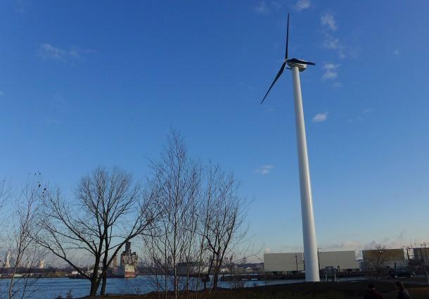 Turbina Eolica, New York Sunset Park