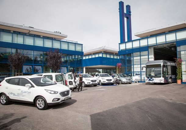 Klimamobility, Auto a Idrogeno