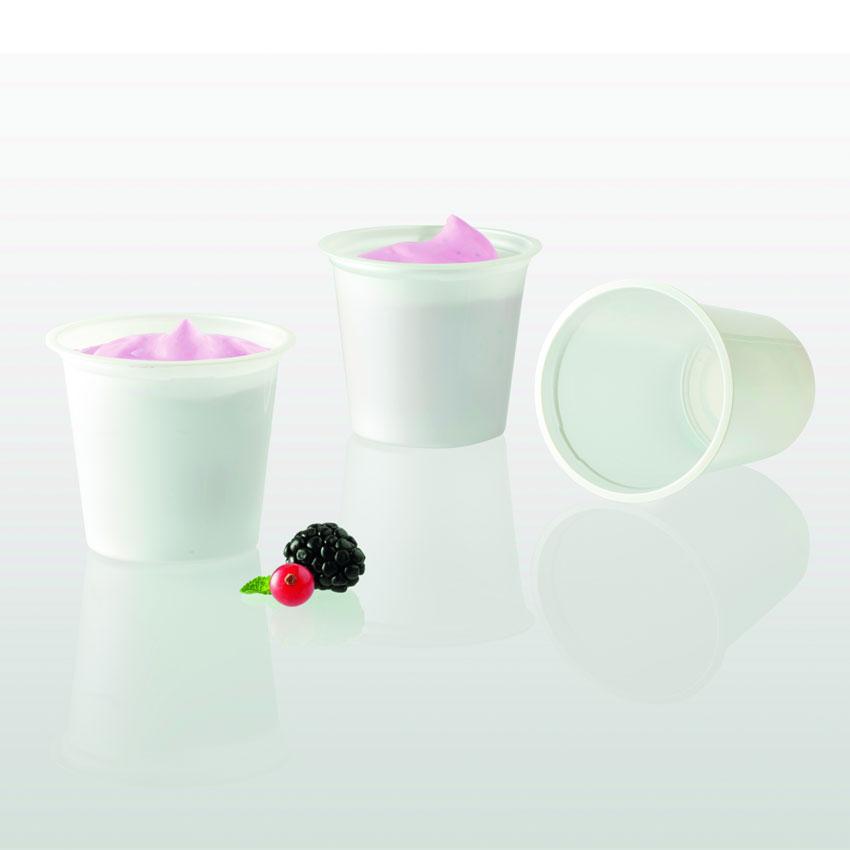 Primo Vasetto Compostabile per lo Yogurt