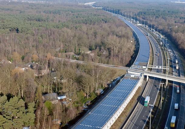 Ferrovie Solari, Pannelli Fotovoltaici a Terra