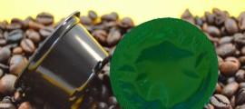 Prima Capsula Compostabile per caffè Espresso