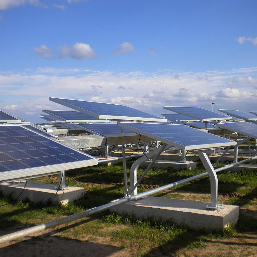 Impianto Fotovoltaico basato su Inseguitori Biassiali