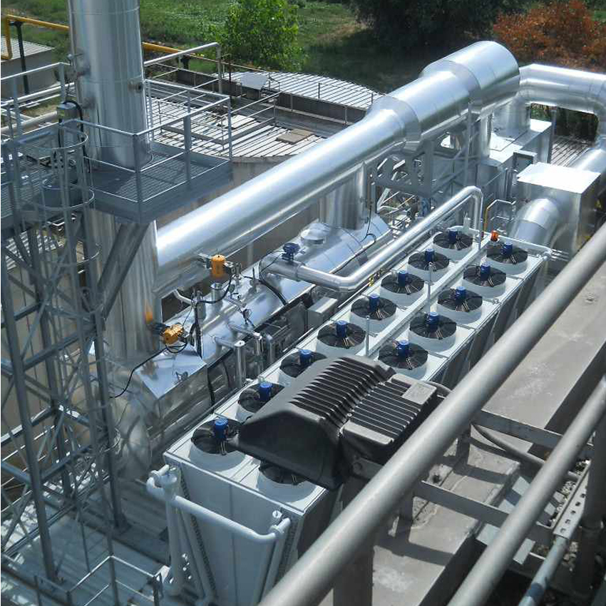 Impianto, un ECOMAX® 33 HE, Alimentato a Gas Naturale