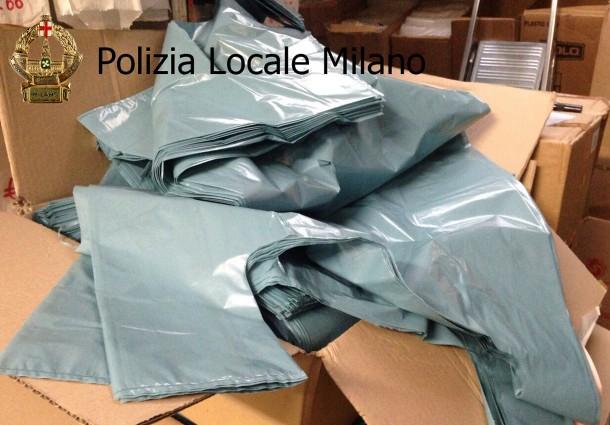 Sequestro di 100 Milioni di Sacchetti di Plastica